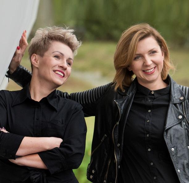 Karolina Sieniawska i Karolina Kazuła