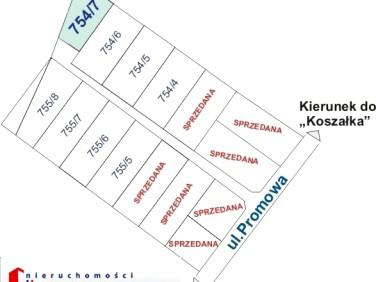 Działka budowlana Koszalin sprzedam