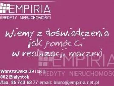 Działka rolna Białystok
