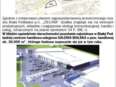 Działka inwestycyjna Biała Podlaska