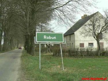 Działka Robuń
