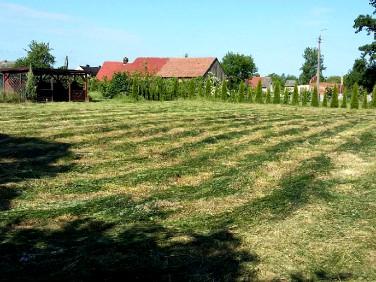 Ogrodzona działka Smolna