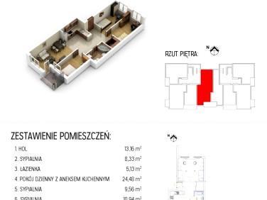 Sprzedam mieszkanie Rzeszów Staroniwa - 71,96m²