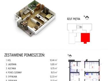 Sprzedam mieszkanie Rzeszów Staroniwa - 70,64m²