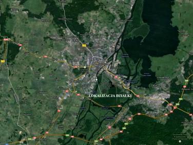 Działka przemysłowa Szczecin
